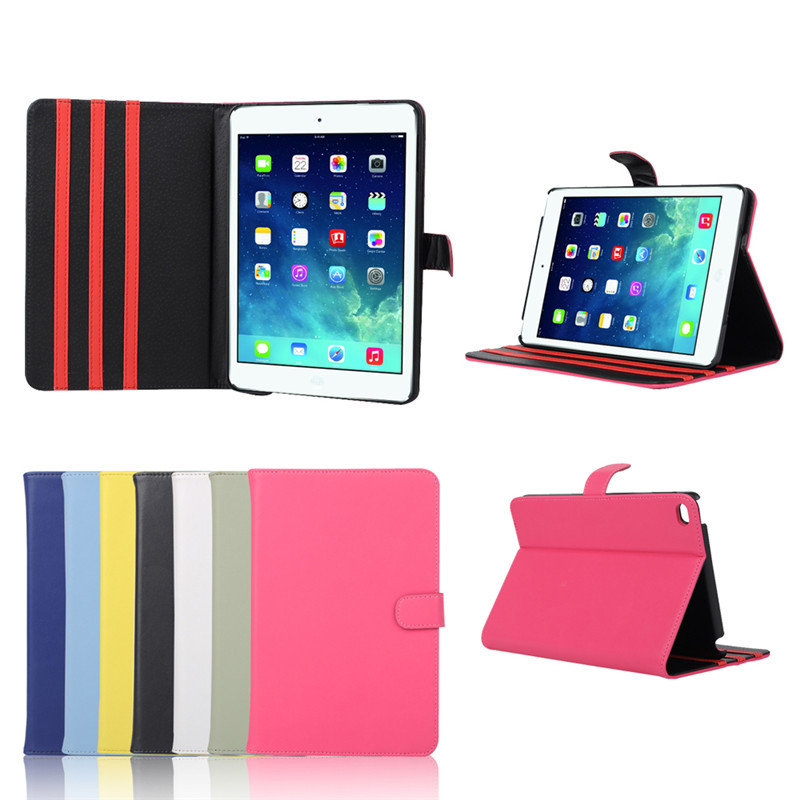 Mini Laptop For Ipad Mini 4 Smart Case, New Design PU Leather Tablet Case Cover For Ipad Mini 4 Case 7.9