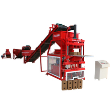 Fully automatic block making machine price soil/clay interlock paving brick machinery