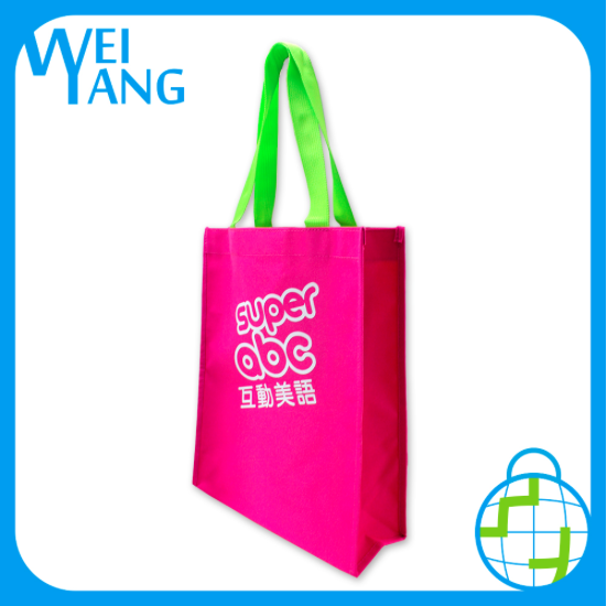 reusable recycled design custom cooler bag Non Woven shopping hand cooler padded waxed bag