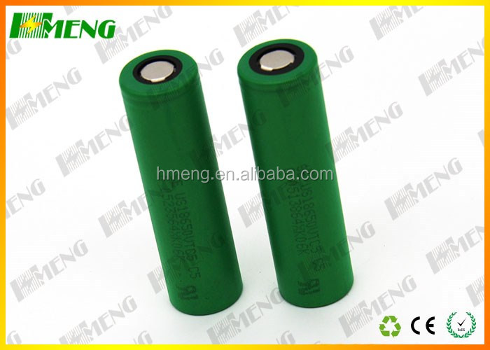 High quality 18650 battery 2600mah 30A vtc5 for sony lithium 18650 battery rechargeable battery for vape