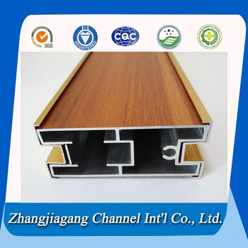 extruded aluminum profile for kitchen cabinet