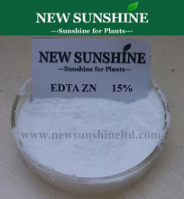 EDTA Zn chelated zinc fertilizer