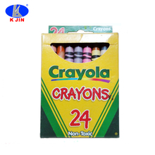 8.8cm 24 color crayons set /wax crayons /finger shape crayola crayons