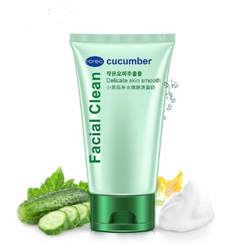 Cucumber moist brightening face Deep Cleansing And Nourishing Facial Cleanser
