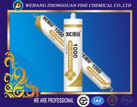 Exterior decoration/construction applications silicone sealant