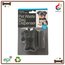 Blister card customized dog poop bag holder