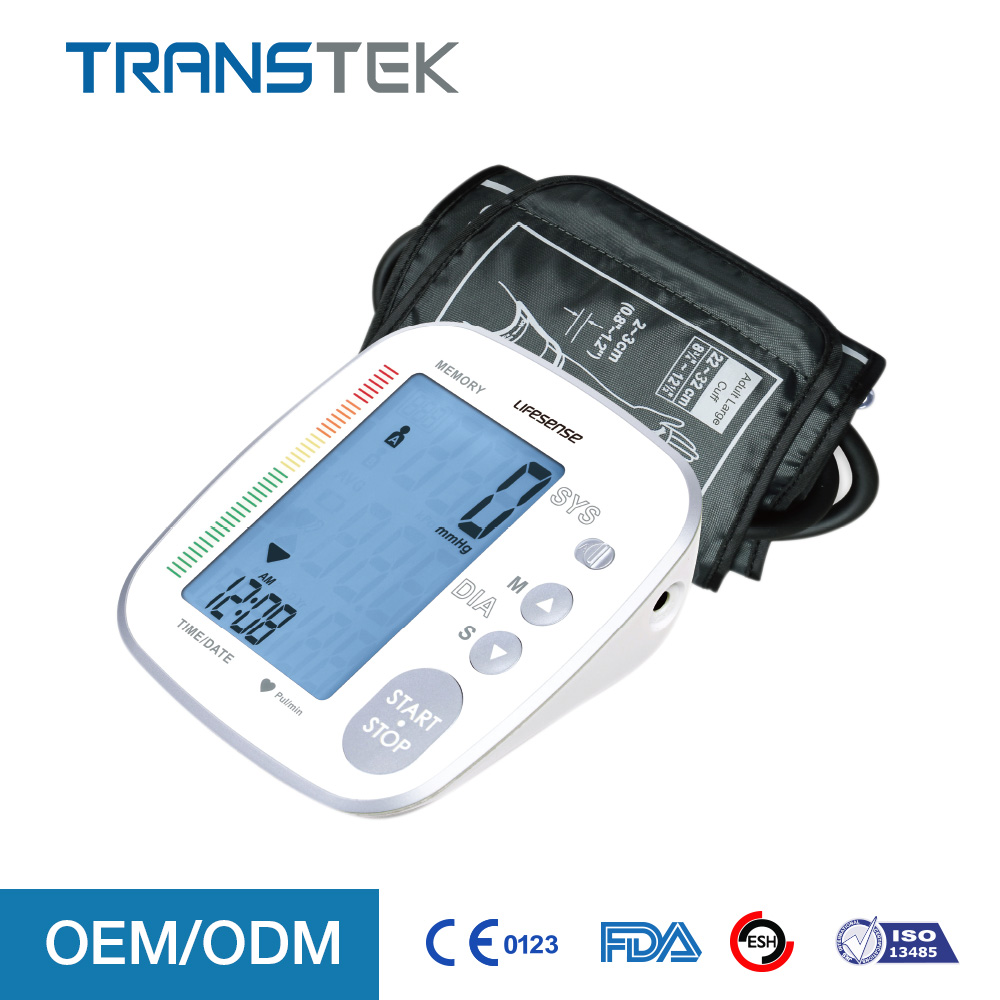 2017 Medical Devices arm blood pressure monitor with Bluetooth 4.0