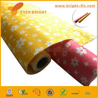 Colored Beautiful Small Flower Pattern Printing Nonwoven Polyester Felt for DIY Craft,Craft Felt Roll Handmade Non Woven Fabric