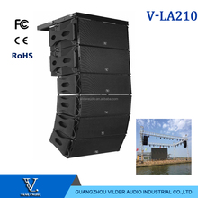 LA-210 Vilder audio line array double 10 inch 2 way outdoor stage sound system speaker