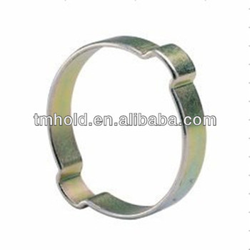 7.5mm bandwidth Double Ear Hose Clamps Mixed Assorted Sizes