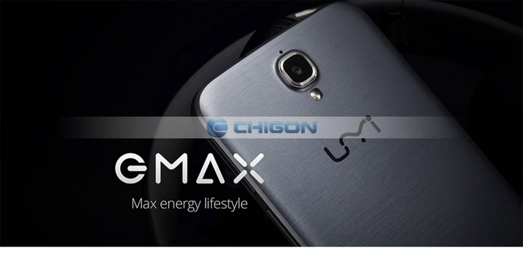Wholesale Original UMI eMAX 4G LTE 64bit 1.7 GHz MTK6752 Octa Core 5.5inch FHD Android 4.4 2GB 16GB 13.0MP Cell Phones