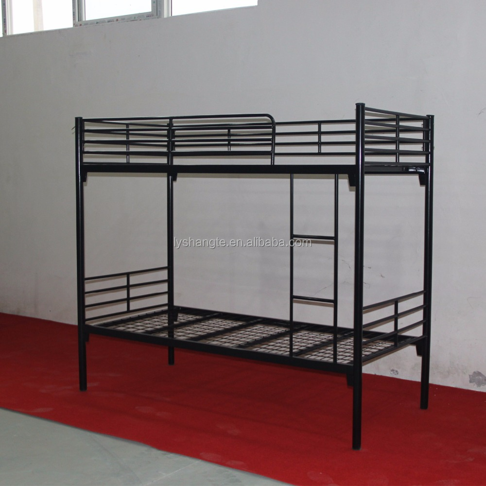Hot selling bedroom furniture specification of bunk bed adult metal bed