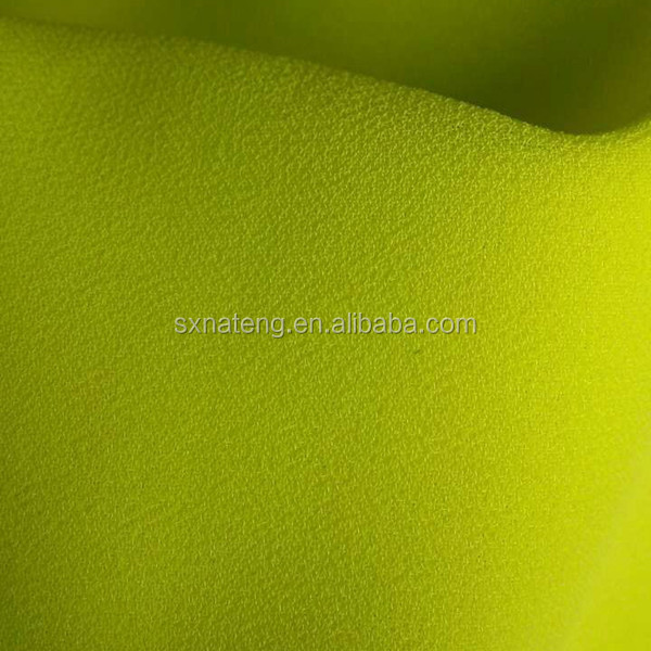 2015 wholesale plain dyed chiffon fabric/cheap 75D chiffon beads
