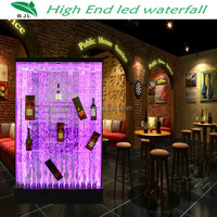 bar and restaurant design custom led water design aquarium japanese room dividers