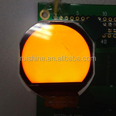 Small round color TFT module for watch special display