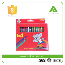 Exquisite 64 Colors Wax Crayons Best Selling Crayon for Kids