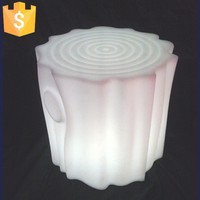 LED Bar Furniture Flashing Chair Light LED Bar Stool Cube Glowing Tree Stool Light up Chairs Free shipping