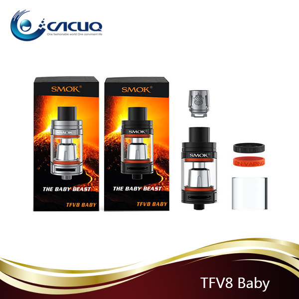 Smoktech Baby Beast Tank 3.0 ML Top Filling Airflow Control Smok TFV8 Baby in Stock
