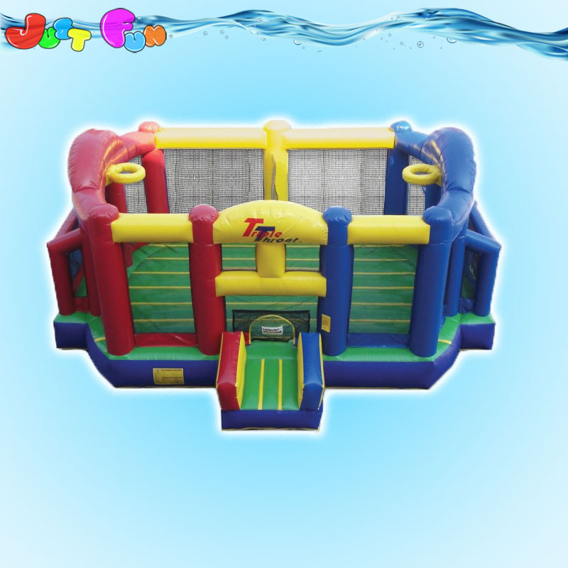commercial grade inflatable basketball bounce house for kids n adults