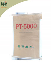 Multi Wall industrial talc powder valve bag sacola de papel kraft