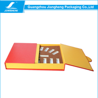 Custom two doors design paper cosmetic syringe packaging boxes