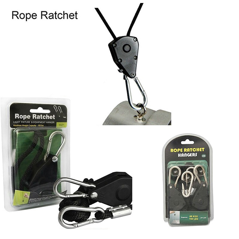 GWELL Factory Direct Supply Wholesale Price Rope Ratchet Light Hanger