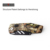 Own patent Safety Lock Utility Knife, Camo Coated Box Cutter