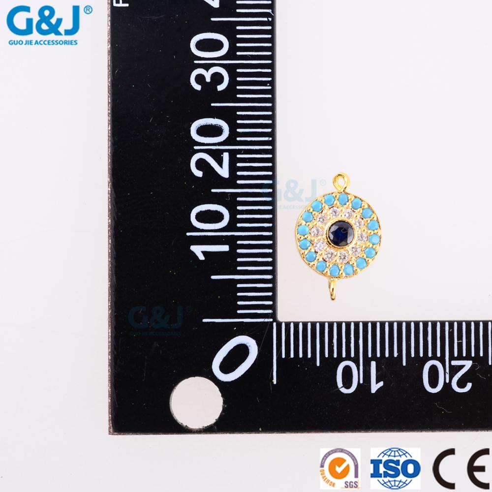 guojie brand wholesale Necklaces with cubic zircon gem stone woman Pendants Jewelry
