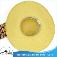 Directly Best Quality Cheap Custom Lady Wide Large Brim Floppy Hat Womens Mens Summer Beach Hat