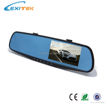 Happy Thanks-Giving Rear-view Mirror FHD G-Sensor Car dvr Black Box hidden wireless video camera remote