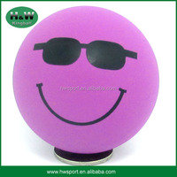 2016 Wholesale high bounce ball hollow rubber ball