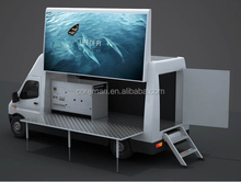 Full Color Animation Display picture p6 p8 p10 Van Alibaba Arabic P12 Truck Mobile Led Display Video HD
