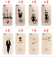 custom printed phone case TPU raised phone case for iphone6