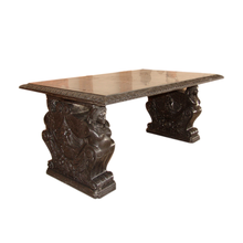 Customized chinese antique hand carved marble manicure table