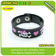 Top grade silicone rubber band,custom make rubber band bracelet / hOT WHOLESALE