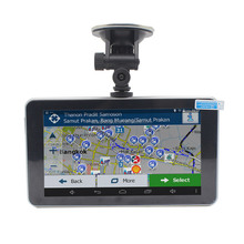 7inch 256M 8G mediatek gps navigator android car gps navigation with wireless rearview camera