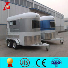 High quality horse trailer China,horse box/trailer from manufacturer