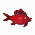 Full handmade glass fish animal figurine