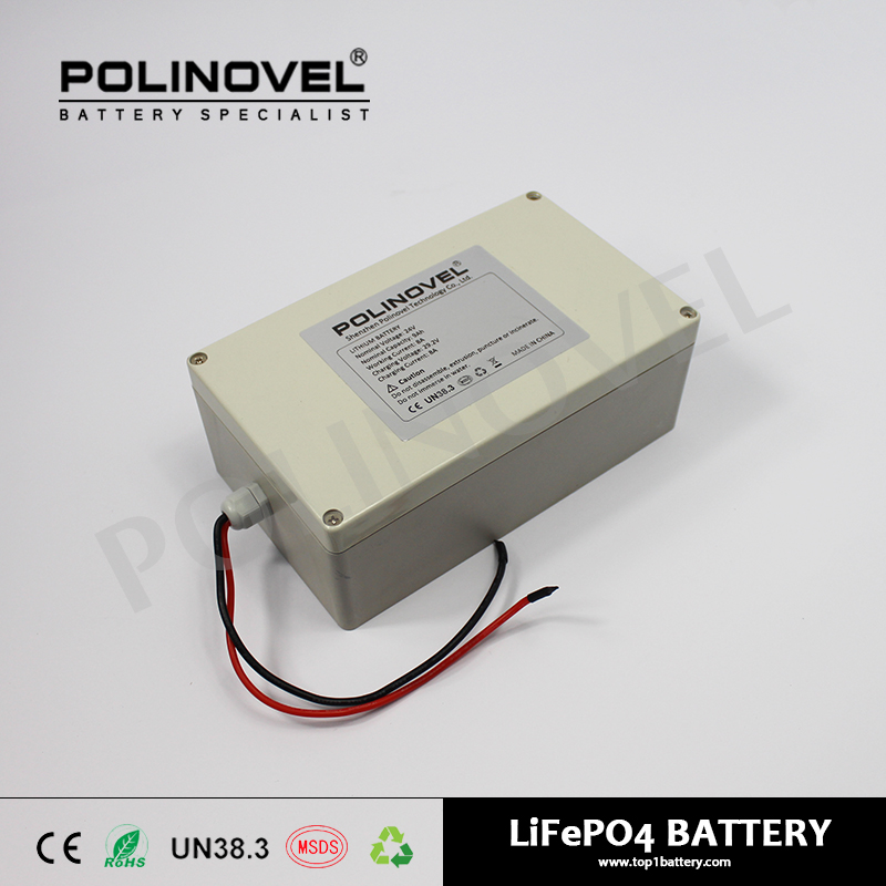 world class quality OEM 24v 18ah lithium battery