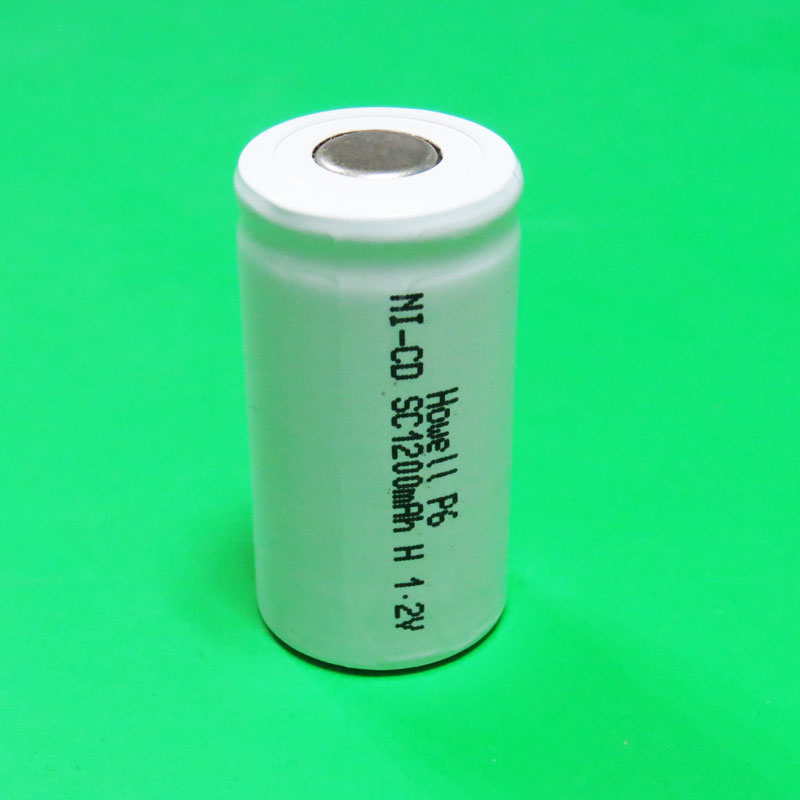 High temperature ni cd sc 1200mah rechargeable battery 1.2v