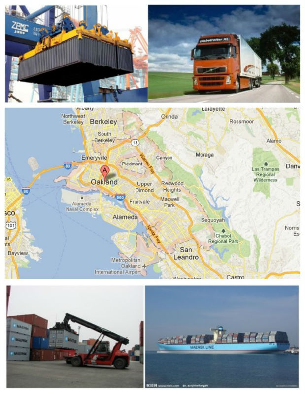 Shipping Agent to Oakland, USA (LCL/Container/Consolidation)