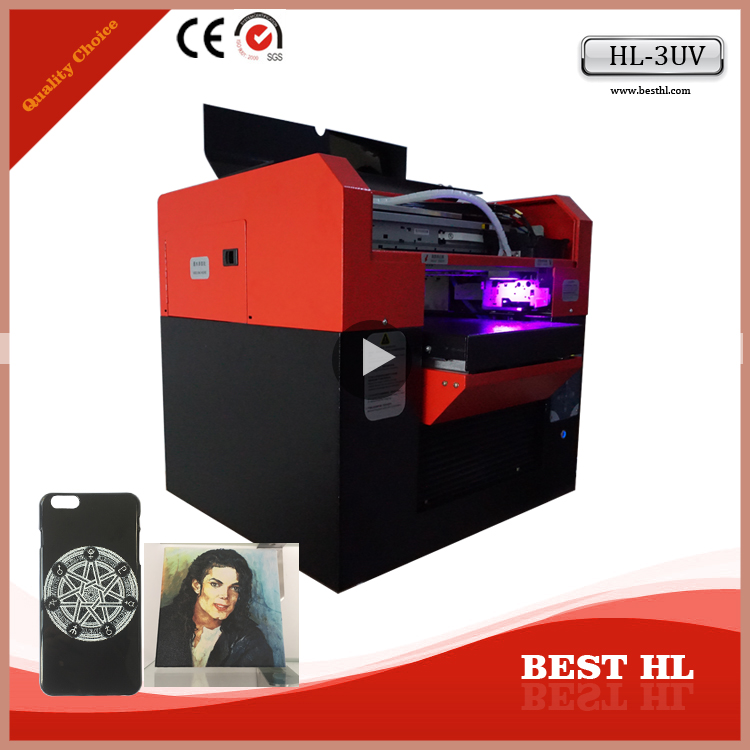 a3 multifunctional uv printer bottles printing machine, Cylinder Digital Inkjet Printer