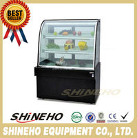 commercial refrigerator showcase/cake display cabinet refrigerate
