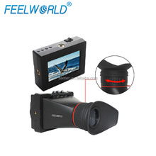 "ViewFinder 3.5"" E350 HDMI Monitor 800*480 Resolution LCD Standalone Display with External Battery"