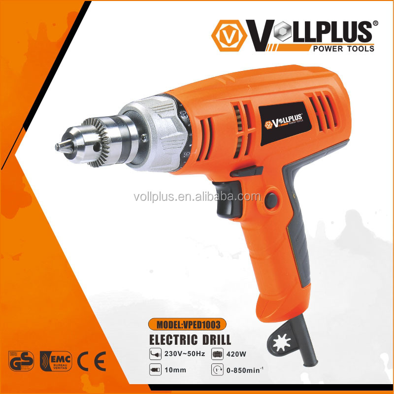 Vollplus VPED1003 420W 10mm 16+1 power tools electric torque specification screwdriver drill