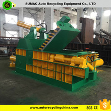 Semi-Automatic Hydraulic used scrap metal balers for sale