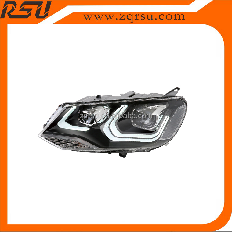 For VW TOUAREG Light Guide LED HEAD LAMP Hid Xenon 2011-2014