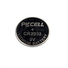 PKCELL 5 Years Shelf Life Non Rechargeable Coin Cell 3V cr2032 Lithium Button Battery