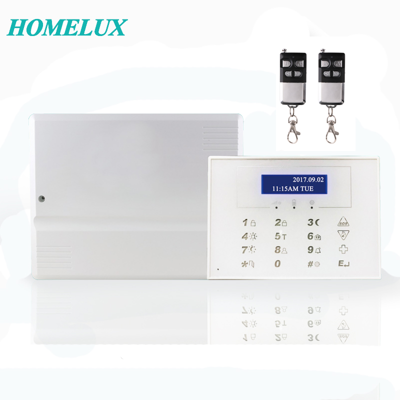 wireless & wired home business security GSM intruder alarm system support Android IOS APP
