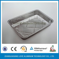 aluminium dishes and plates take away